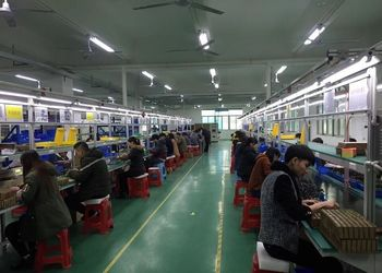 cylindrical battery packing workshop