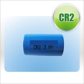 China CR2  3V  900mAH LiMnO2 Primary Lithium Battery for GPS Security System supplier