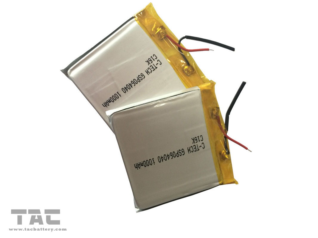3.7V 1000MAH Li - Ion Polymer Rechargeable Battery for Flashlight
