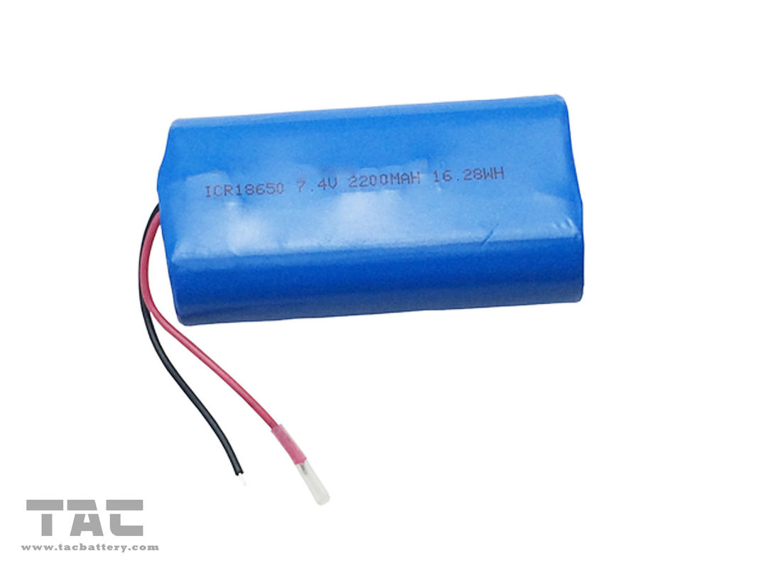 Lithium Ion Battery 8V 18650  2200mAh  For Led Christmas Light