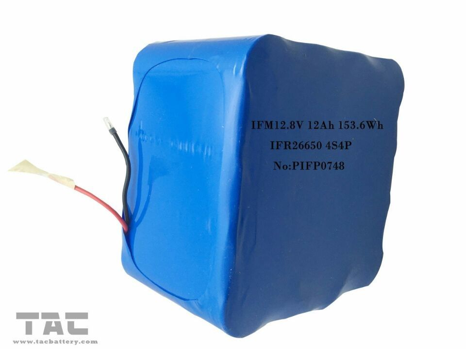 IFM12.8V 12Ah LiFePo4 Battery Pack 26650 4S4P For Solar Street Light