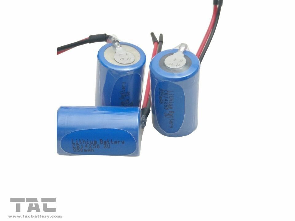 CR14250 3.0V 850mAh Li-Mn Battery , Wheelchair Lithium Battery