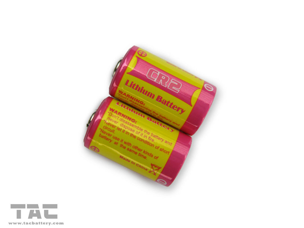 CR2 3V 900mAH LiMnO2 Primary Lithium Battery for GPS Security System