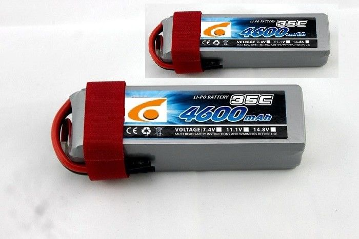 RC UAV Drone Polymer Lithium Ion Batteries 7.4V 5200mAh 2S 25C discharger