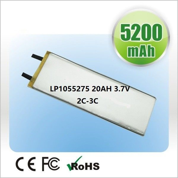 OEM Polymer Lithium Ion Batteries 2500mAh  3.7V For Small Medical Device