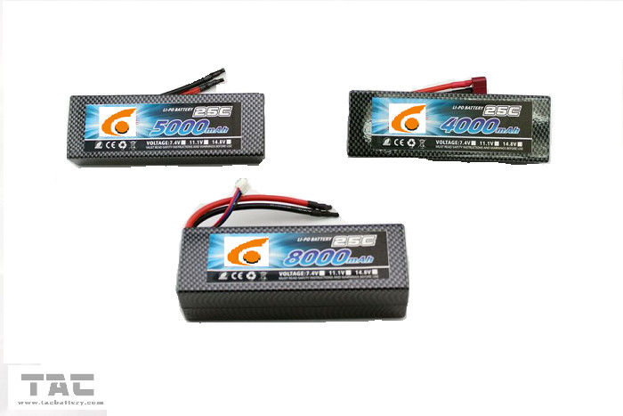 Lipo Battery For  Unmanned Aerial Vehicle battery pack 11.1v  35C  5000mah