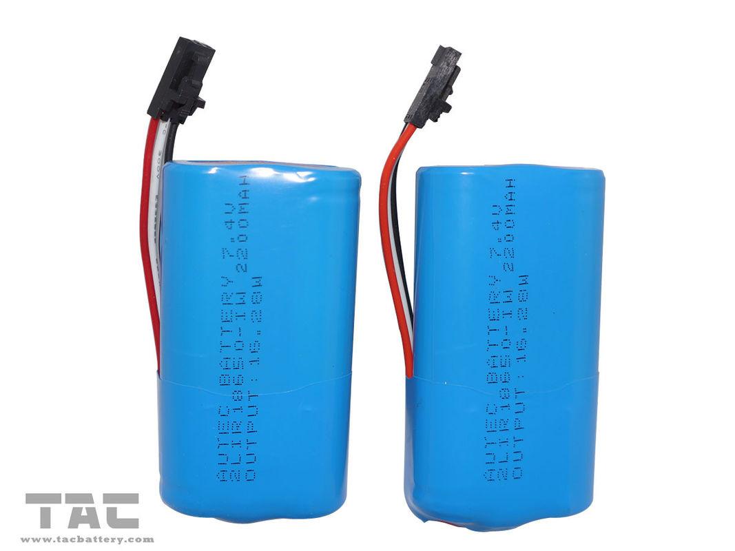 Bater as recargables cil ndricas 2200mah de la i n de - Tipos de pilas recargables ...