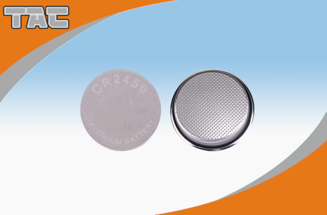 CR2450A 3.0V 600mA Li-Mn Primary Lithium Coin Cell Buttery for Clock, Memory Card
