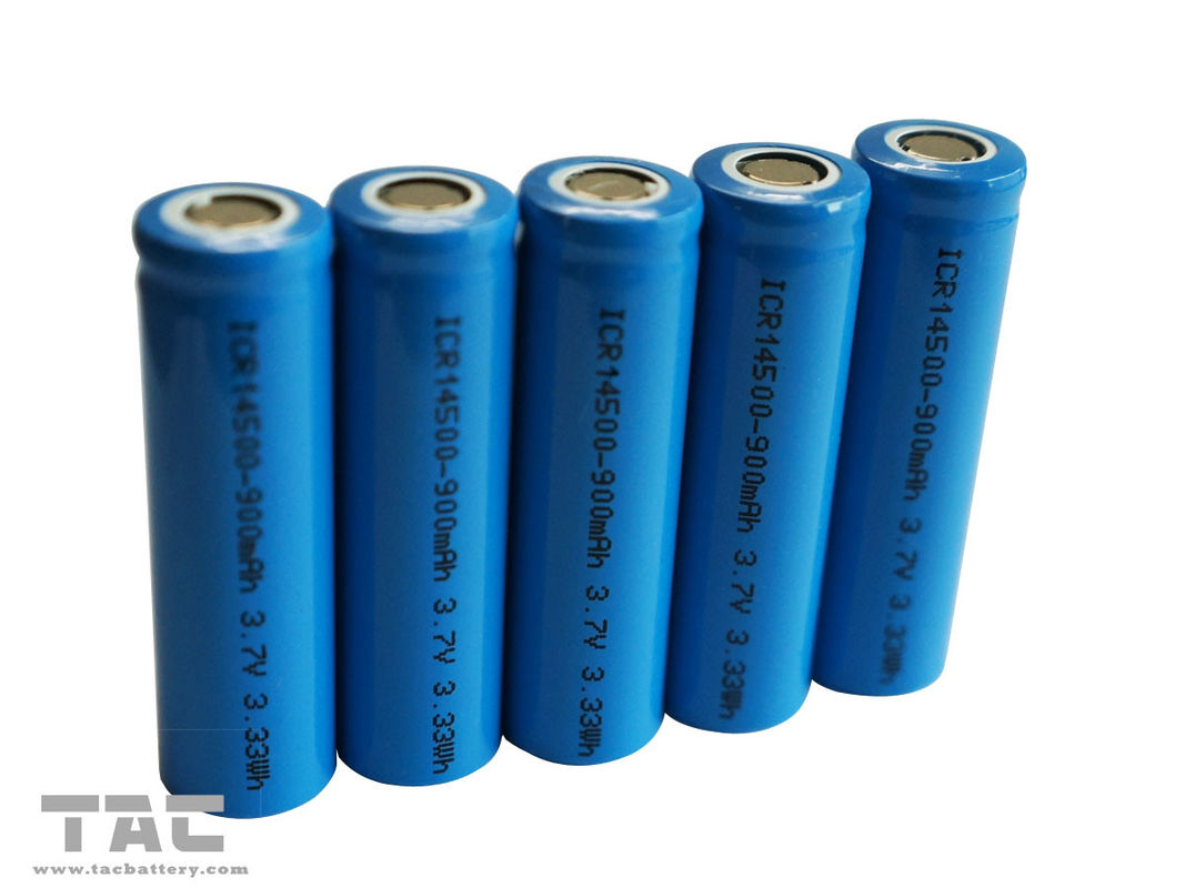 Rechargeable aa lithium polymer batteries