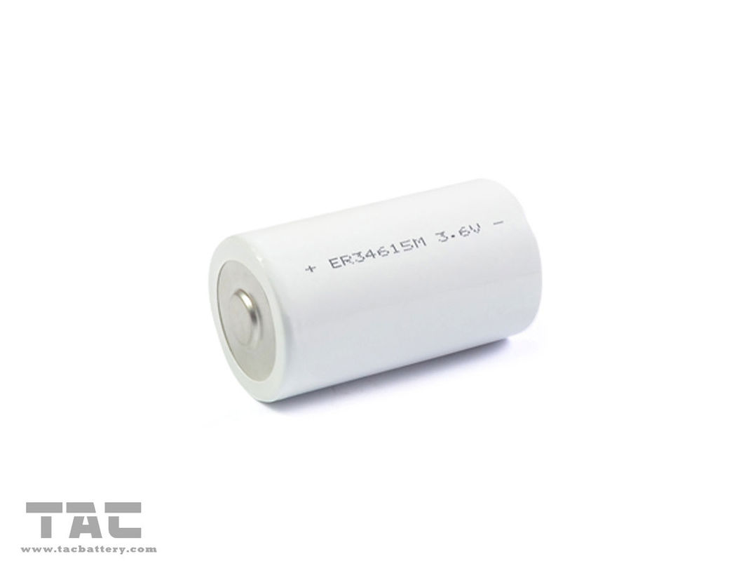 Bobbin 3.6V Rechargeable Lithium Battery 19000mAh D33.1mm x H61.5mm