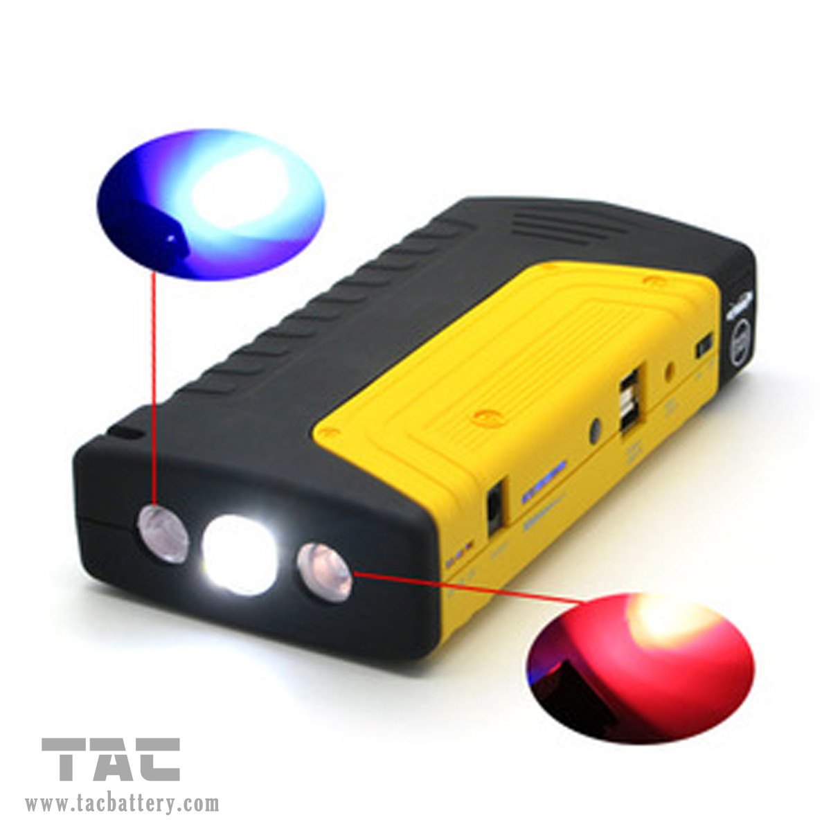 16800mAh Auto super 12v car jump starter for Laptop / Mobile Phone