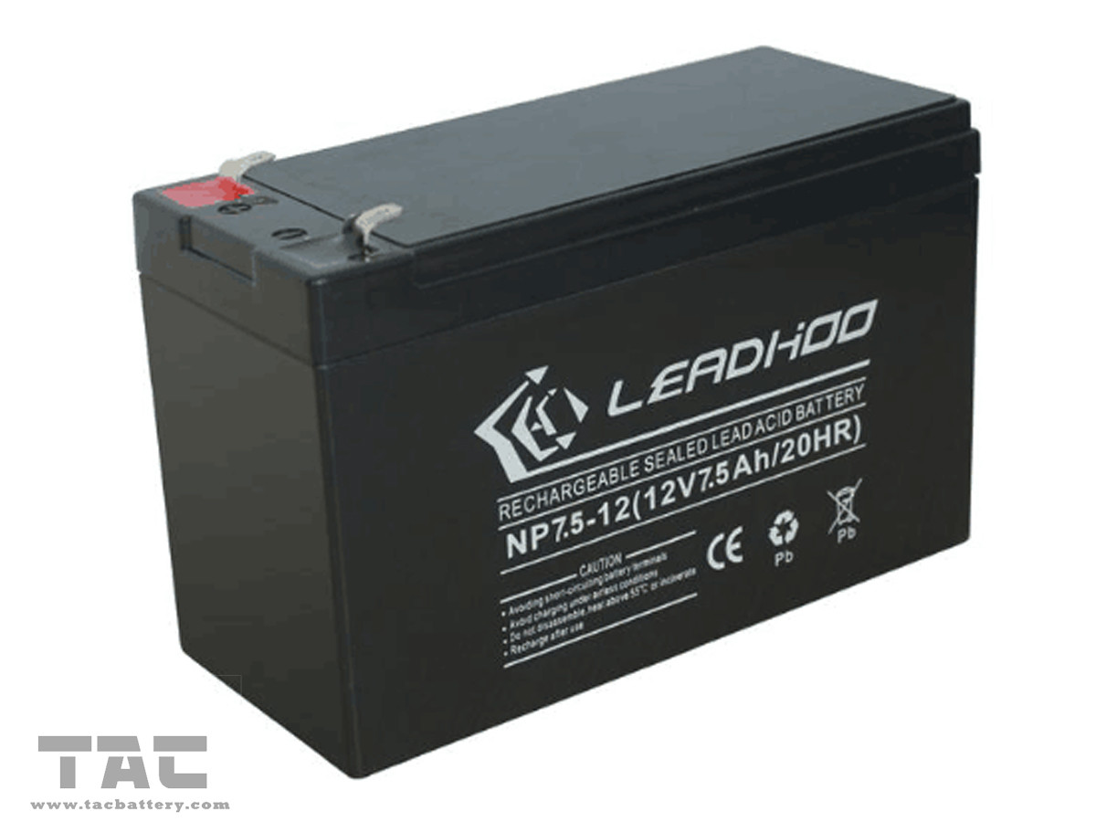 12v Battery Pack 12v 7 5ah Seal Lead Acid Battery Pack For