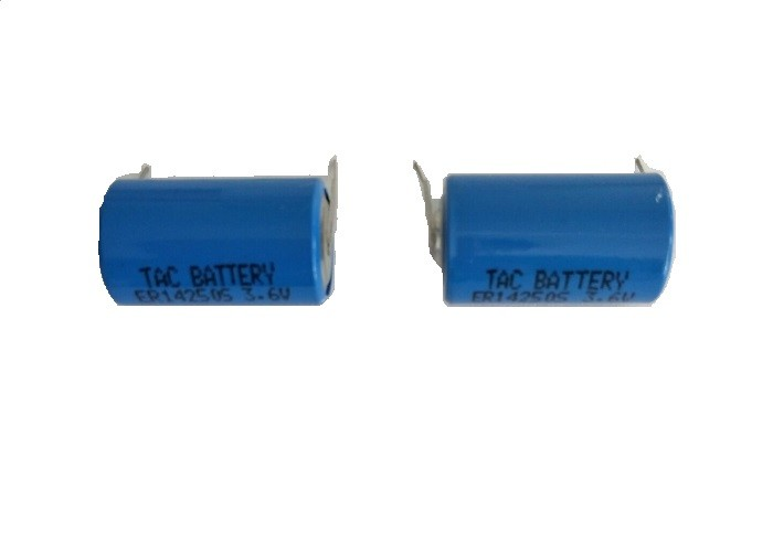 ER14250 3.6V  Lithium Battery  1/2AA Li-Soci2 800mAh for high temperature battery