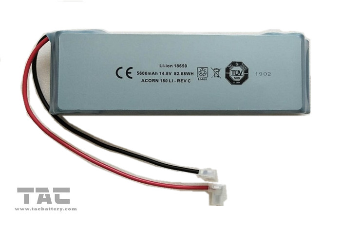 18650 Lithium Ion Battery Pack 14.8v 5.6ah With UL2054 For Street Lighting
