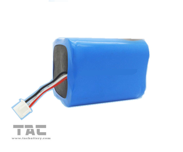 6V  LiFePO4 Battery Pack 18650 1100mAh for Electric Toy and Robot