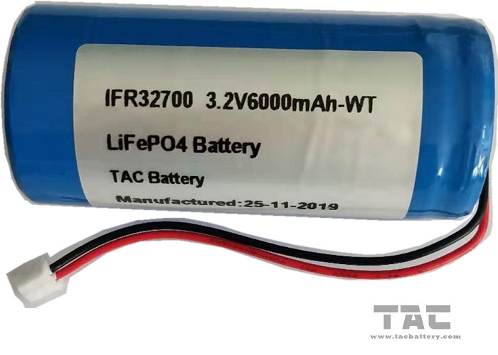 IFR32700 3.2V LiFePO4 Battery For Tracking Equipment and Solar Electrical Fence