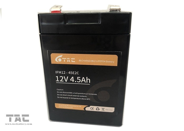 Electrical Motor Car 4.5ah 12V LiFePO4 Battery Pack