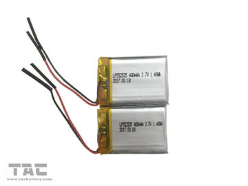 China GSP552535 Rechargeable Li Polymer Battery LP552535 3.7V 400mAh For IoT factory