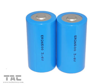 LiSOCl2 Battery ER26500 ER 3.6V 9000mAh with Stable Operation Voltage