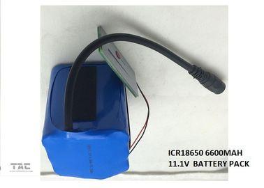 Lithium Car Battery  18650  11.1V 6.6Ah LI-ION battery pack for Car  Power Tool