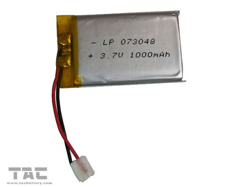 China Lipo Battery LP073048 3.7V 800mAh Polymer Lithium Ion For Electrial Production factory