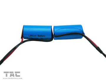 Non-rechargeable 3.0V CR123A 1300mah Li-Mn Battery With Wire