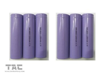 China 18*65MM Li - Ion Cylindrical Battery 18650 3.7 Volts 3200mAh For Pass BSMI factory