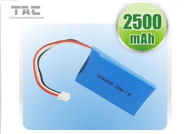 China OEM Polymer Lithium Ion Batteries 2500mAh  3.7V For Small Medical Device factory