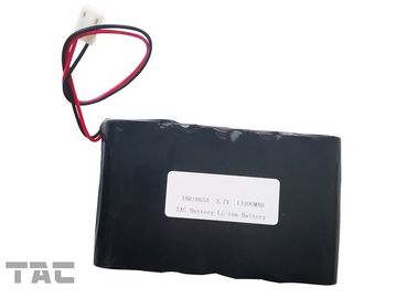 Outdoor Solar Lithium - Ion Battery Pack 3.7V ICR18650 UL1642  500 Times Circle Life
