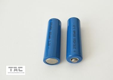 China Blue PVC 3.2V LiFePO4 Battery AA 14500 600mah For Solar Lamp And LED factory