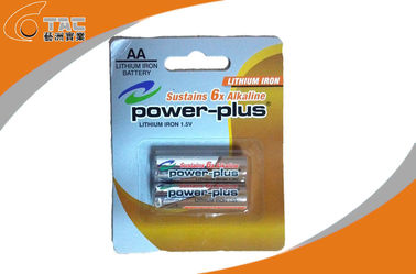 Primary Lithium Iron LiFeS2 1.5V AA/L91 Power Plus Battery for Digital Camera