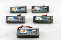 Blue Polymer Lithium Ion Batteries , Unmanned Aerial Vehicle battery pack 11.1v 35C 5000mah