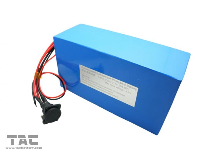 IFR26650EC 4S7P Deep Cycle Life 12.8v 21Ah Lifep04 Battery Pack With ROHS / CE