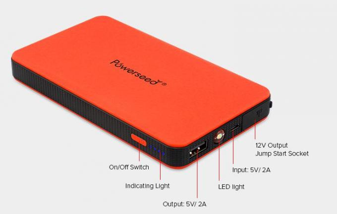 6000mAh Miniboost  Lithium-Ion Multi Function Jump Starter Power Bank CE FCC ROHS PSE