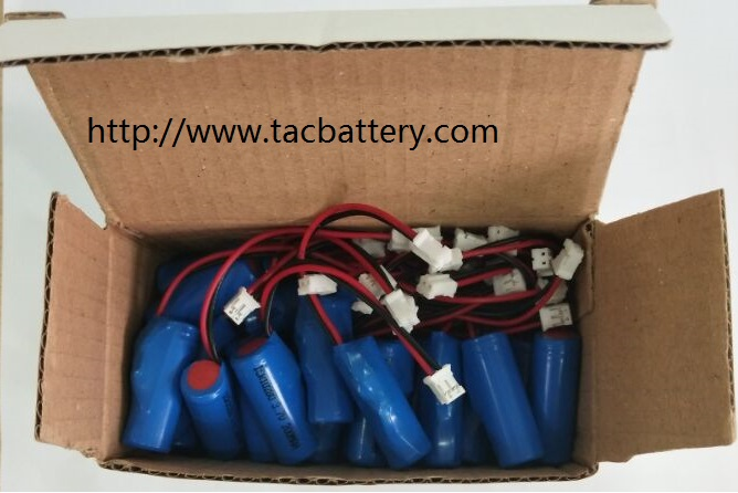 Alarm LiSOCl2 Battery ,  Er10450 Lithium Battery 3.6 v 750mAh With Electrinic Tag