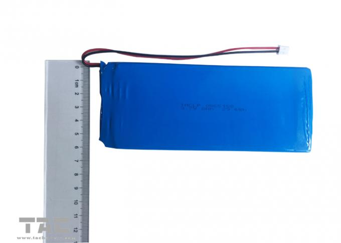 Square Soft Pack Polymer Lithium Ion Batteries 0865158 3.7V 8000mAh