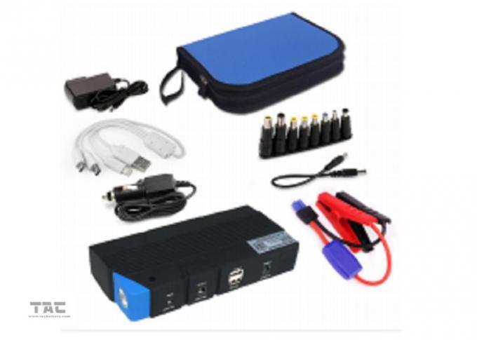 Car Battery Jump Start 15000mAH For 12V Vehicle With Charger , Auto Jump Starter