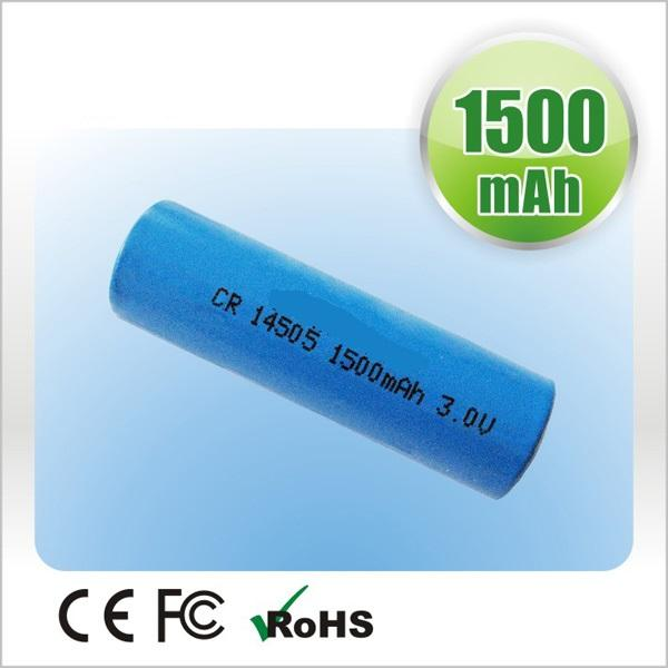 CR14505 AA Li-Mno2 Battery 1600mAh 3.0V Primary Lithium Battery Cell Smart Home