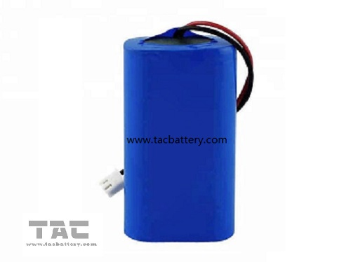 Lithium Ion 18650  2600mah 7.4v  Battery Pack  For Solar Camping