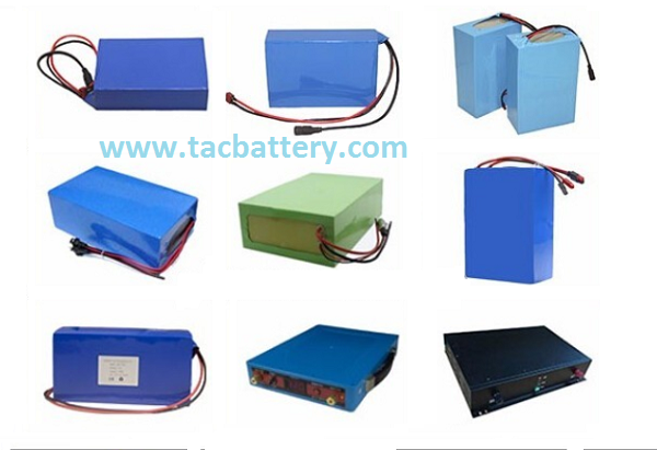 High Capacity Electric Bike Battery Pack 12V 24Ah Without Housing