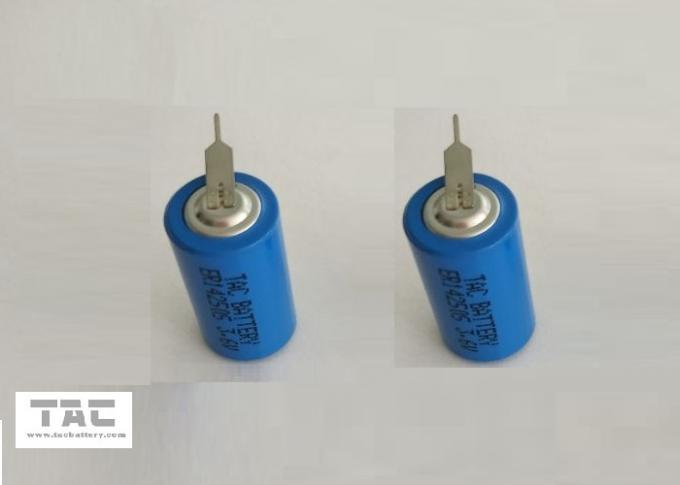 3.6V 1/2AA Li-soci2 Lithium Battery ER14250S 900mAh for Medical Device