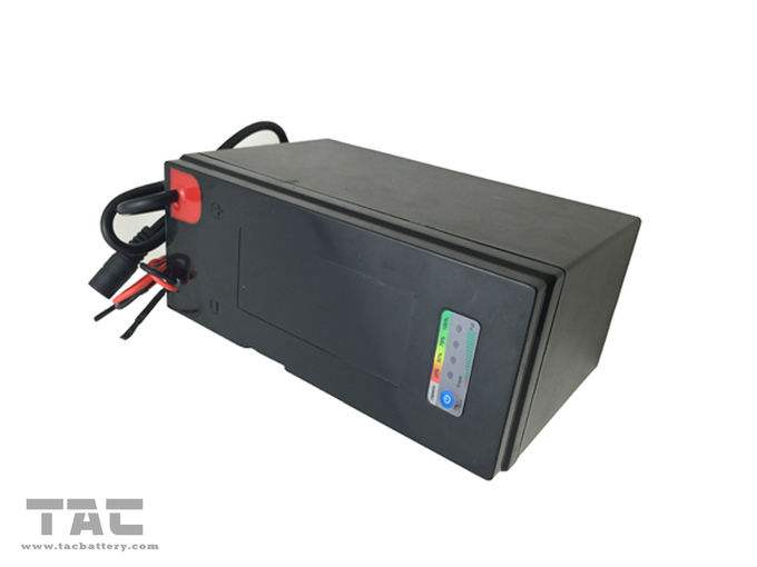 7.5Ah 12V LiFePO4 Rechargeable Battery Pack with ABS Plastic Case