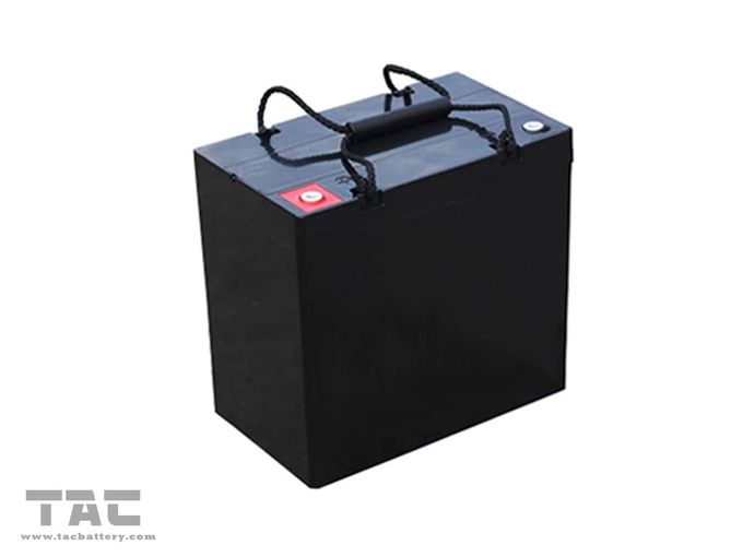 Non-toxic Lithium Car Battery 12.8V 45AH Deep Circle Energy Storage System