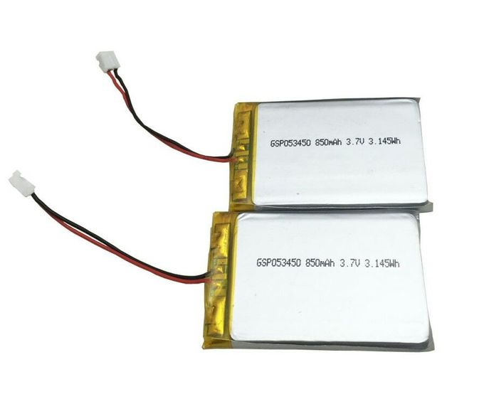 GSP053450 3.7V 850mAh Batteries Polymer Lithium Ion Batteries for GPS Tracker